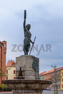 Zur Erinnerung an den Turnvater: Friedrich-Ludwig-Jahn-Denkmal Wittenberge