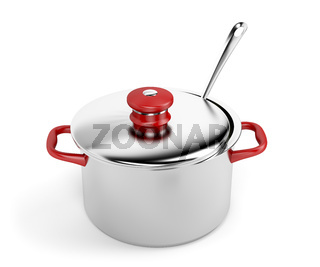 Pot and ladle