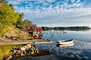Schären an der schwedischen Küste