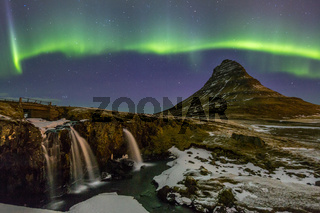 Northern Lights Aurora  Iceland