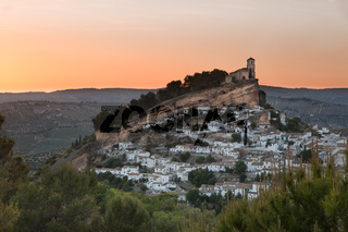 Montefrio at sunset, Province of Granada, Spain