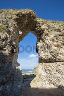 Felsentunnel The Wishing Arch an der Atlantikküste