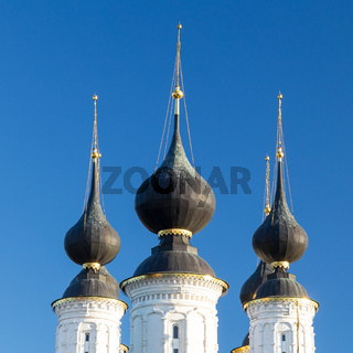 Antipius Orthodox church in city of Suzdal Russia