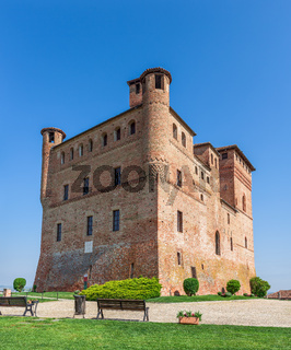 Castle of Grinzane cavour in Italy.