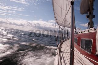 Klassisches Segelschiff auf der Ostsee