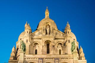 Basilique du Sacre Coeur in Paris France