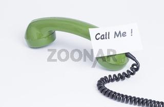 Telefonhörer Call Me