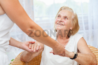 Providing care and support for elderly