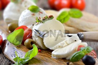 Mozzarella-Brotzeit