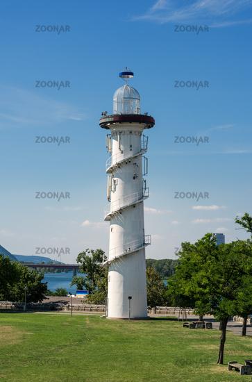 Leuchturm auf der Wiener Donauinsel