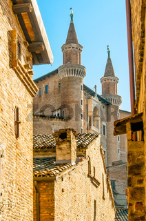 View of Urbino