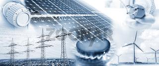 Energieversorgung mit Strom und Gas
