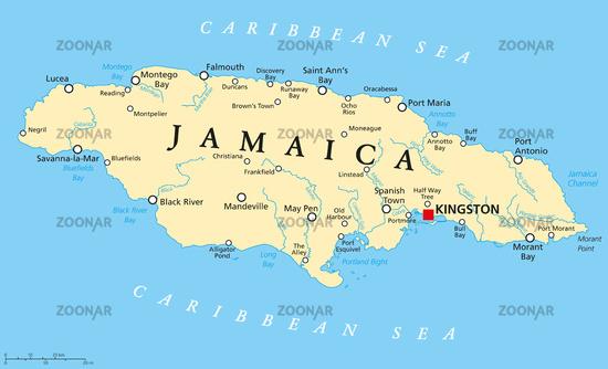 jamaika landkarte Foto Jamaika Landkarte Bild #7078531 jamaika landkarte
