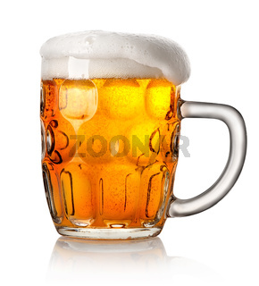 Big mug of beer
