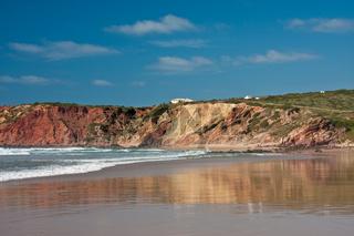 Praia do Amado - Felsenküste an der Algarve/Portugal