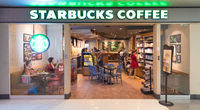 Starbucks coffee store in MBK shopping mall, Bangkok