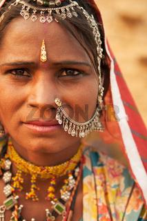 Indian female portrait