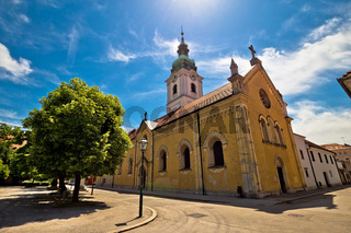 Town of Karlovac church and architecture