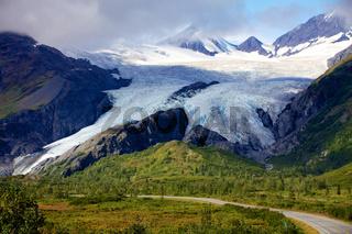 glacier near valdez alaska