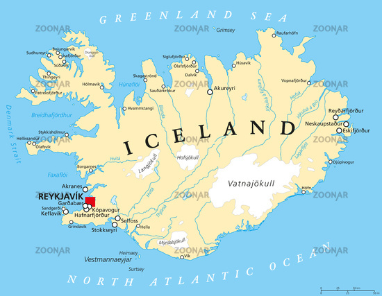 Foto Island Landkarte Bild 7232773