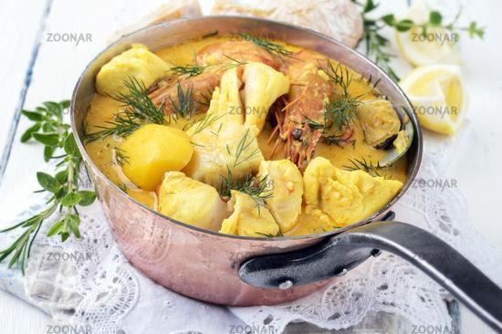 Fish Stew in Casserolle