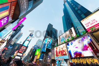 New York - DECEMBER 22, 2013: Times Square on December 22 in USA