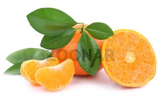 Mandarine Mandarinen Früchte Frucht Freisteller freigestellt isoliert