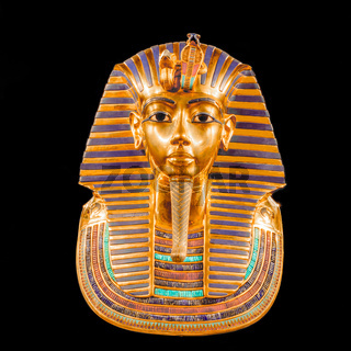 Mask of Tutankhamun's mummy