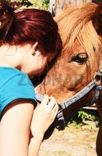 Freundschaft zwischen Mensch und Tier