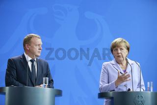 Merkel meets Rasmussen in Berlin