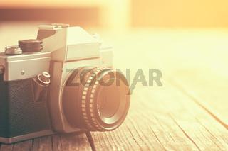 retro analogue camera