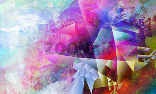 malerei graphik texturen polygonal