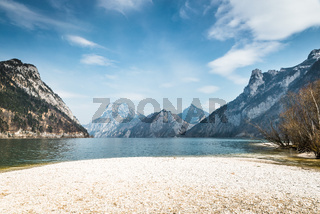 Traunsee Lake in Gmunden