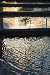Wasser in Brunnen, Budapest, Ungarn