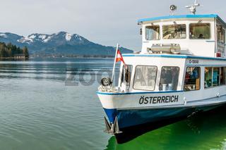 Schiff Österreich am Wolfgangsee