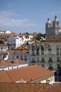 Kloster São Vicente de Fora, Stadtviertel Alfama, Lissabon, Portugal