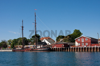 Segelschiff Fortuna in Marstal