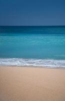 Beautiful surfing sand beach