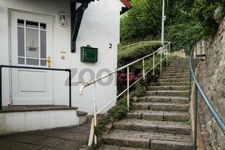 Treppenviertel in Blankenese, Hamburg