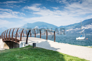 Bridge at Lake Garda
