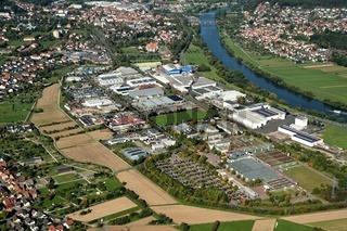 Industriegebiet Süd in Lohr am Main
