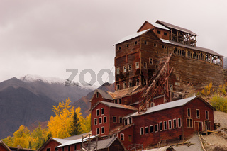 Wrangell St Elias Kennecott Mines Concentration Mill Alaska Wilds
