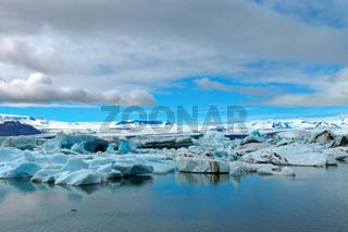 Eisberge auf der Gletscherlagune Jokulsarlon