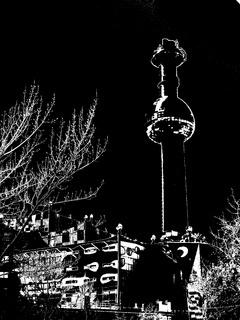 Stencil Fernwärmekraftwerk Wien