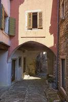 Street of Oprtalj