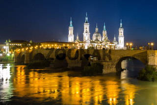 Our Lady of the Pillar Basilica Zaragoza