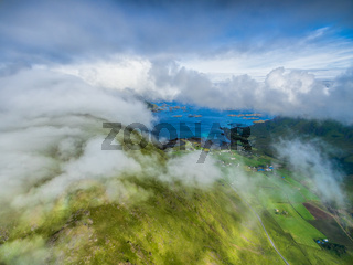 Clouds above Lofoten