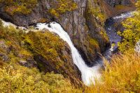 Waterfall, Norway - Eidfjord Voringfossen