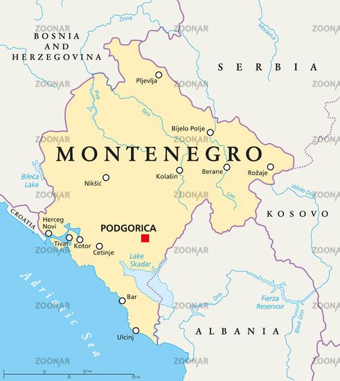 montenegro landkarte Foto Montenegro Landkarte Bild #7783463 montenegro landkarte