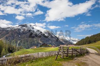 Footpath in South Tyrol